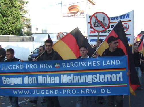 neonazis bei der jugend pro nrw